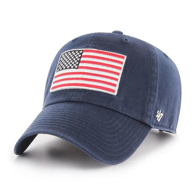 Greenville Drive 47 Brand Navy Flag Drive Clean Up Hat