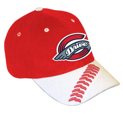 Greenville Drive Bimm Ridder Youth Red Stitching Detail Hat