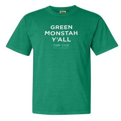 Greenville Drive Green Monstah Y'all Adult Tee