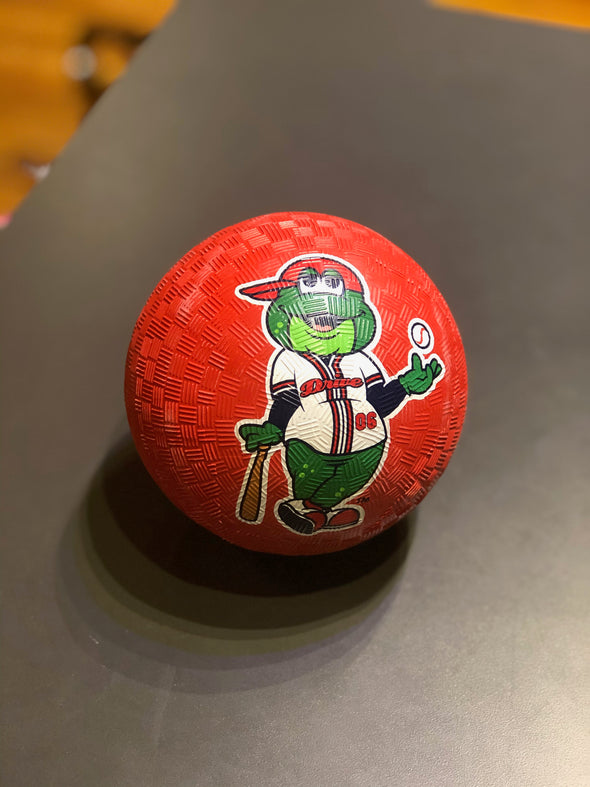 "Greenville Drive BWM Red 5"" Reedy Playground Ball"
