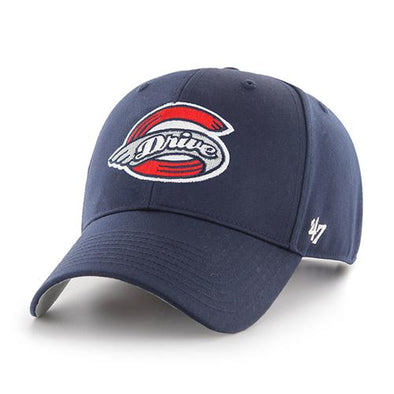 Greenville Drive 47 Brand Navy MVP Hat with Primary Logo