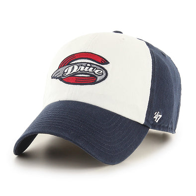 Greenville Drive 47 Brand Navy/White 2 Tone Clean Up with Primary Logo