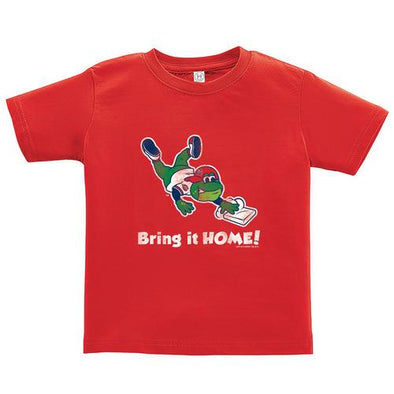 Greenville Drive Soft as a Grape Toddler Red Reedy Tee