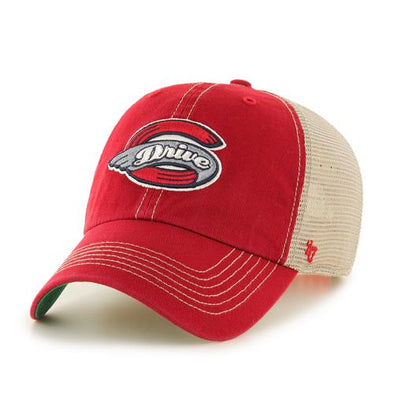 Greenville Drive 47 Brand Red Trawler Hat with Primary Logo