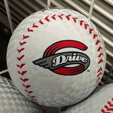 "Greenville Drive Rawlings Rubber 8.5"" Large Playground Ball"