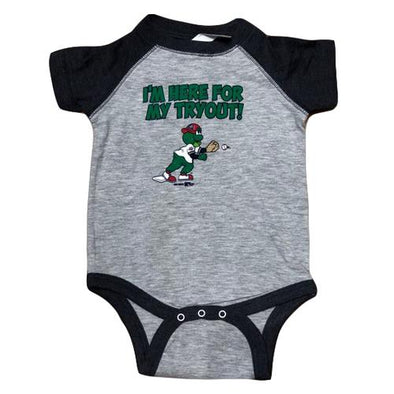 Greenville Drive Tryout Reedy Onesie