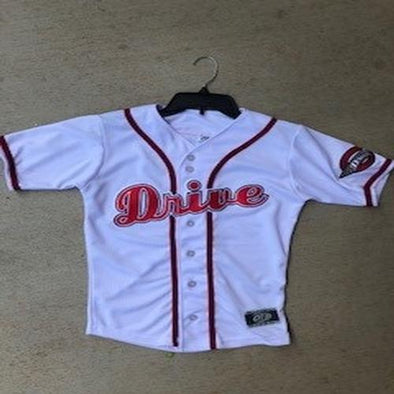 Greenville Drive OT Sports Youth White Jersey