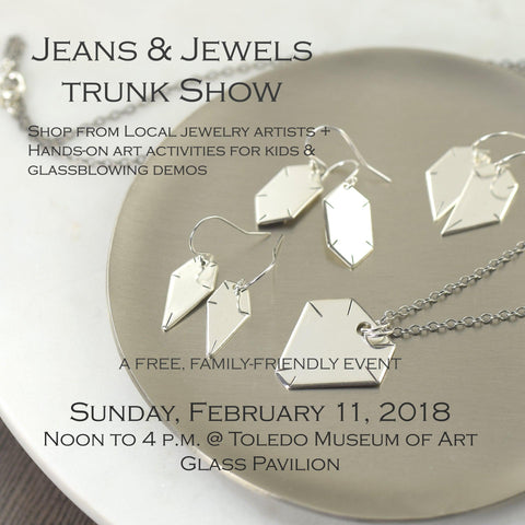 Jeans and Jewelry trunk show