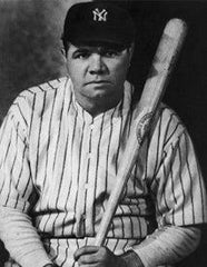 Babe Ruth left handed