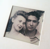 My grandmother and grandfather (in love ♥)