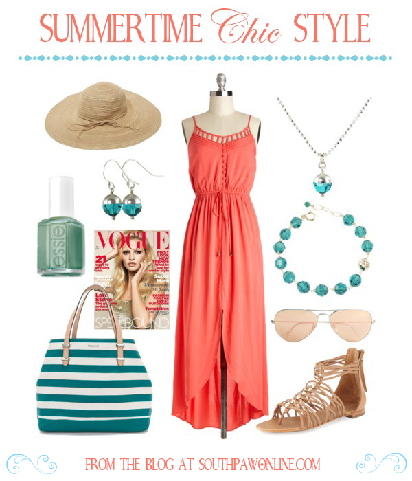 Get the Look: Summertime Chic