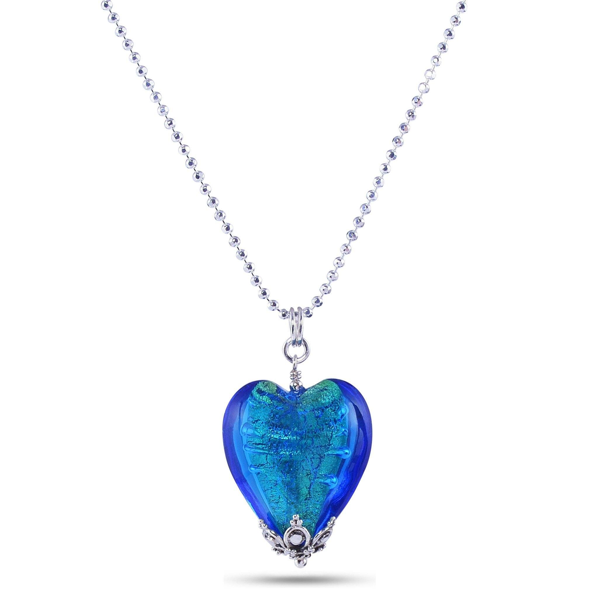 best and purple glitter blue pendant necklaces half friends us cobalt necklace heart