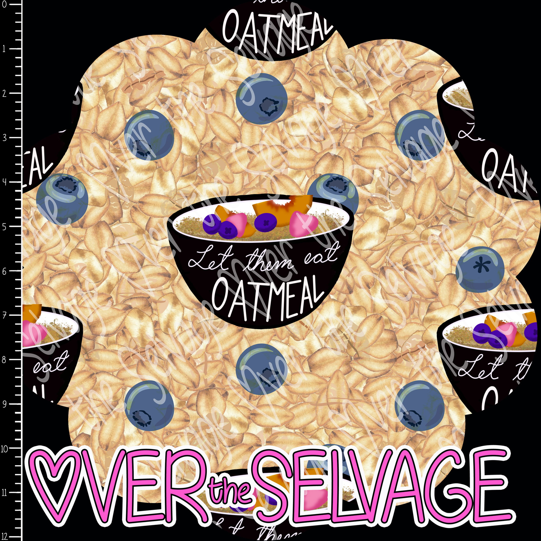 Let Them Eat Oatmeal Coordinate PreorderR14