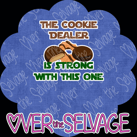 Cookie Dealer is Strong LARGE R7 Panel