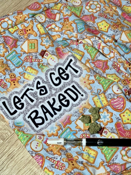 Let's Get Baked Small  Panel - Retail R11