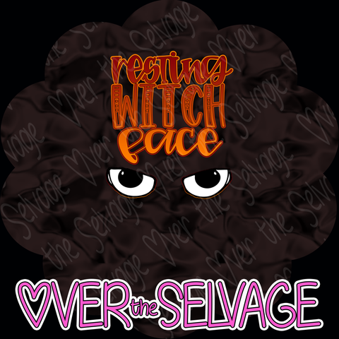 Resting Witch Face SMALL Panel - R10 Retail