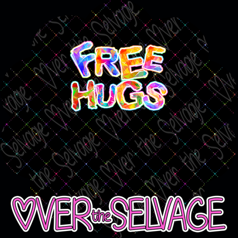Free Hugs SMALL Panel-PreorderR8