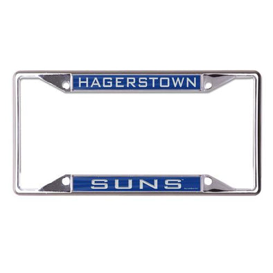 Hagerstown Suns Suns License Plate Frame