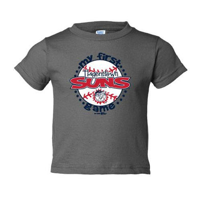 Hagerstown Suns First Suns Game Infant Tee