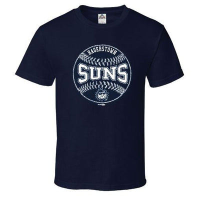 Hagerstown Suns Navy Youth T-Shirt