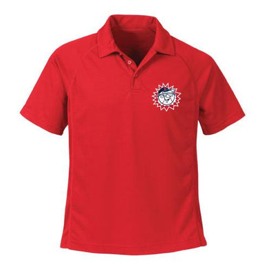 Hagerstown Suns Performance Polo Red