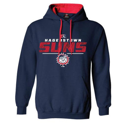 Hagerstown Suns Navy Suns Hoodie
