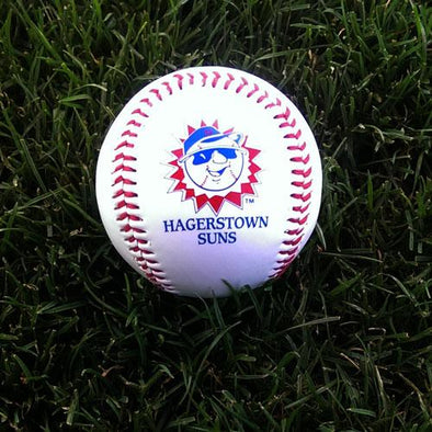 Hagerstown Suns Commemorative Logo Baseball