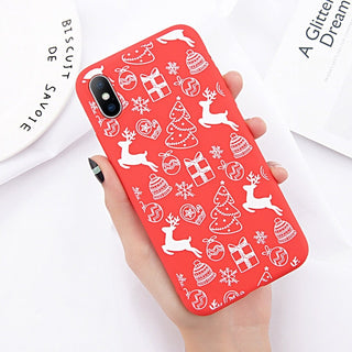 Christmas Santa Claus soft iPhone Cover
