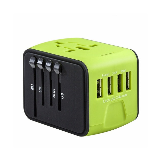 Travel Adapter - Worldwide Wall Charger
