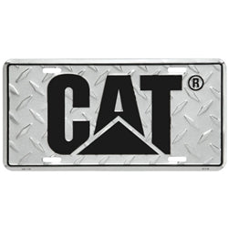 DIAMOND PLATE LICENSE PLATE
