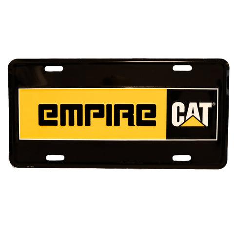 EMPIRE-CAT LICENSE PLATE