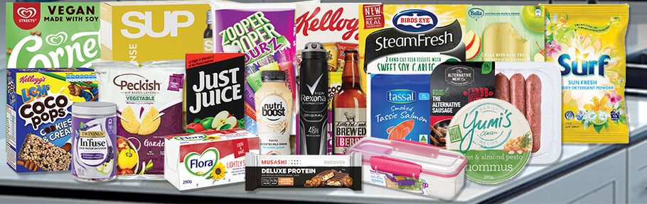7th Oct Catalogue Out Now with Big Brand Saving! Save $77.18 just on these 20 items.