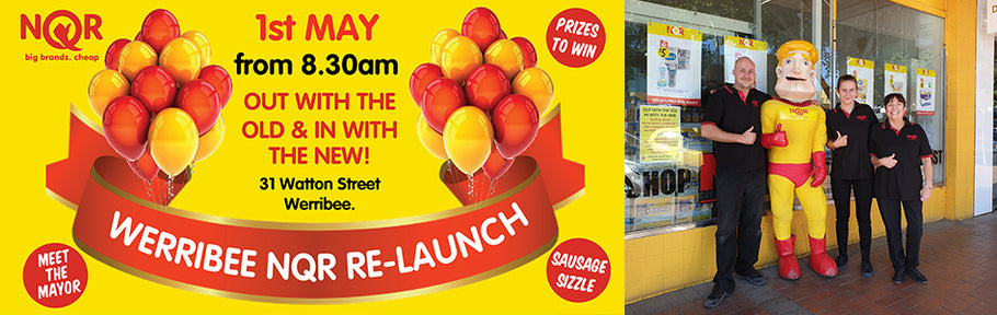NQR Werribee Store Re-Launch!