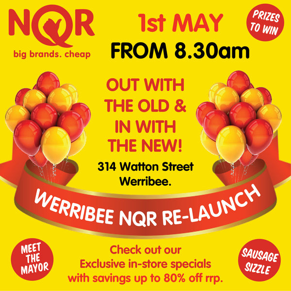 Werribee NQR Relaunch Event Cheap Groceries