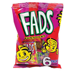 Fyna Fads Fun Sticks 90g