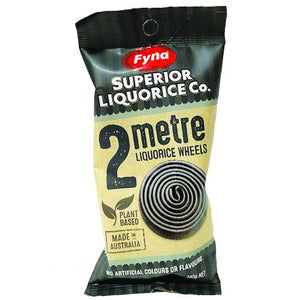 Fyna Licorice Roll 2 Meter 240G