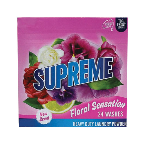 Supreme Laundry Powder Floral Burst 1kg