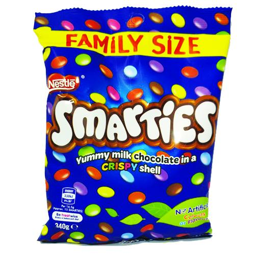 Nestle Smarties Large Bag 340g