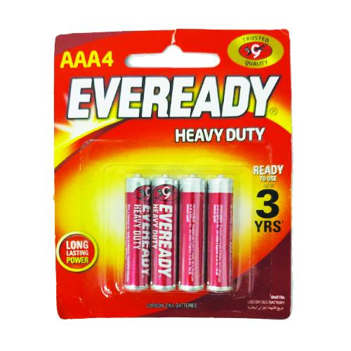 Eveready AAA 4 Pack