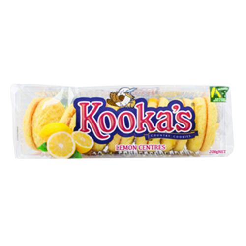 Kookas Country Cookies Lemon Centres 200G