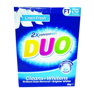 Duo Laundry Cleans & Whitens 2Kg
