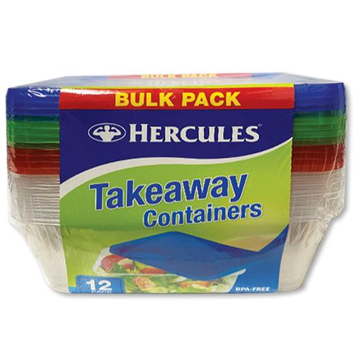 Hercules Container 750ml 15 Pack