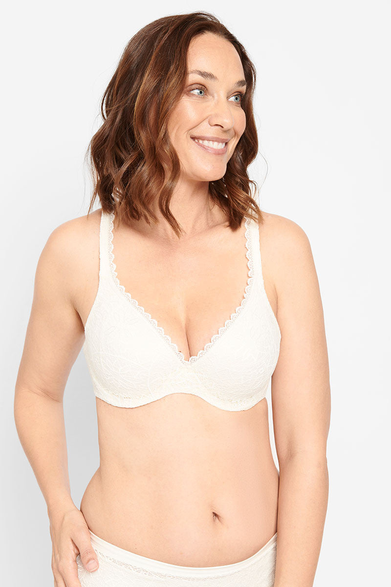 Berlei Barely There Lace Contour Bra YYTP Green Brand New AUS Stock