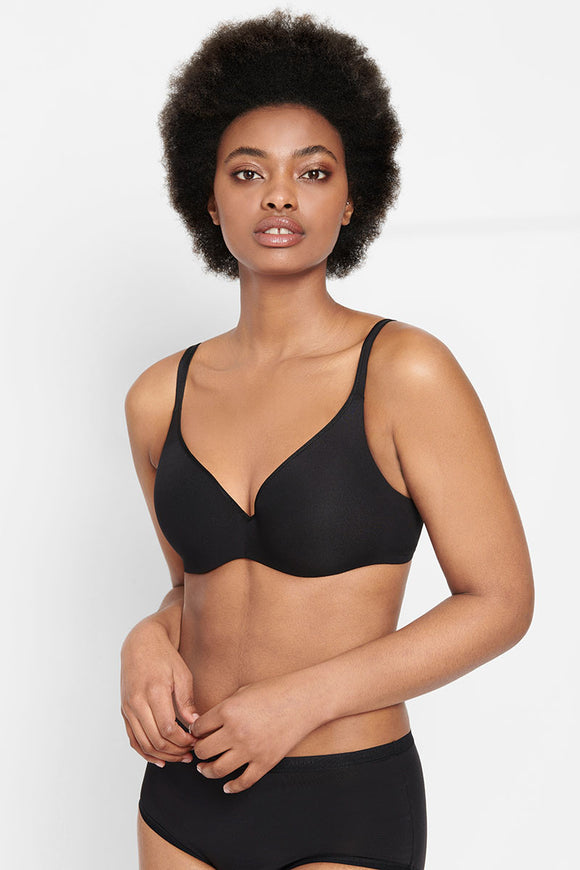 Berlei Barely There Bra Y250B Black Front The Lingerie Drawer