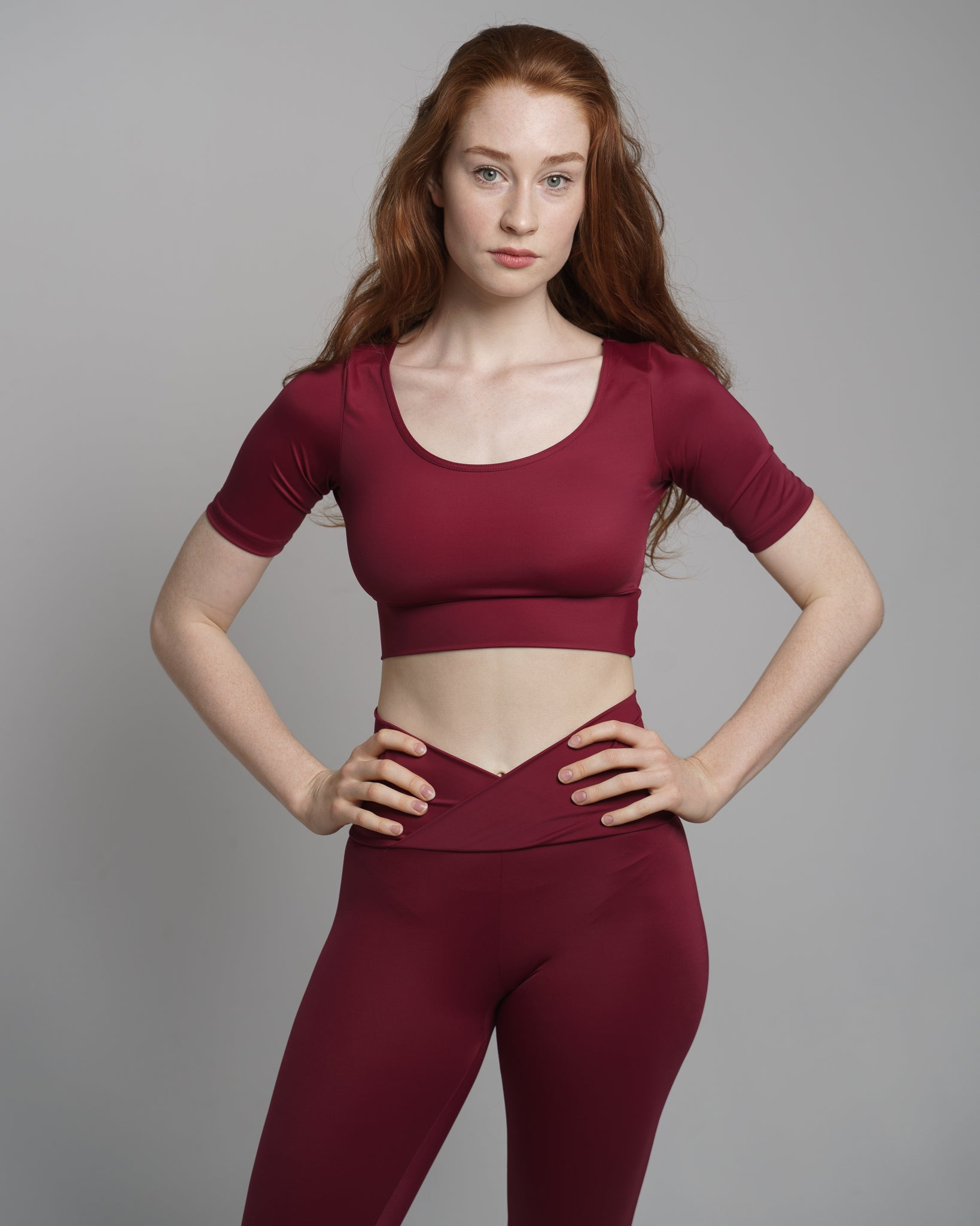 Sarah Power crop top