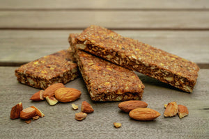 Healthy Organic Plant-based Gluten-free Fiber Prebiotic Bar Snack Food