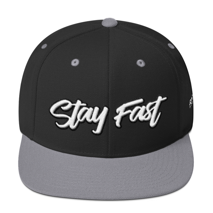Stay Fast - Snapback Hat