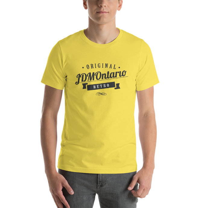 LIMITED EDITION JDMOntario Retro - Unisex T-Shirt