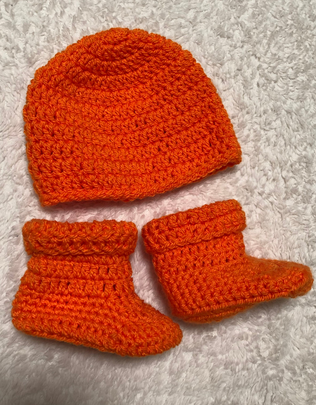 Hat & Bootie Set