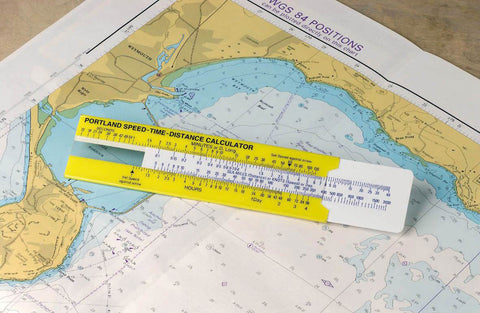 Speed-Time-Distance Ruler (6 inch) - Blundell Harling